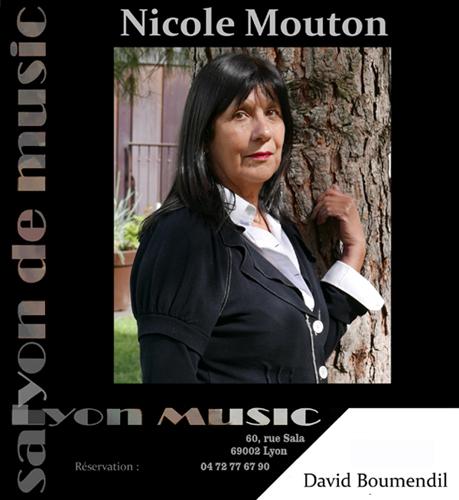 Jeudi 8 juin 20h Nicole Mouton et David Boumendil, piano