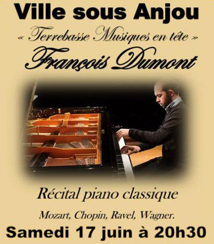 Samedi 17 juin 20h30 François Dumont en récital