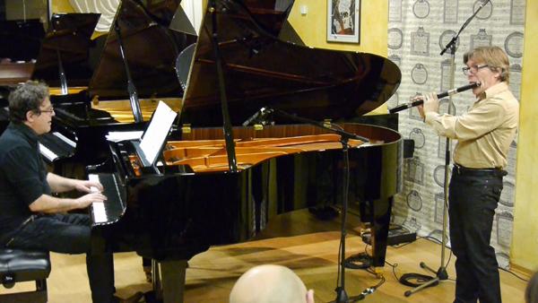 Mario Stantchev, piano et Michel Lavignolle, flûte