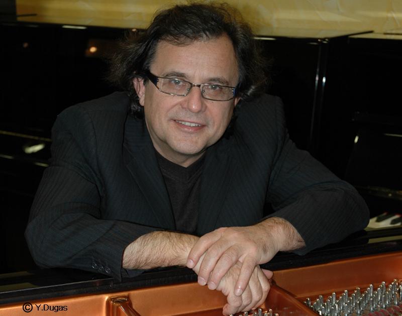 Lundi 10 novembre 20h30 Mario Stantchev concert conférence Jazz Ecole Centrale