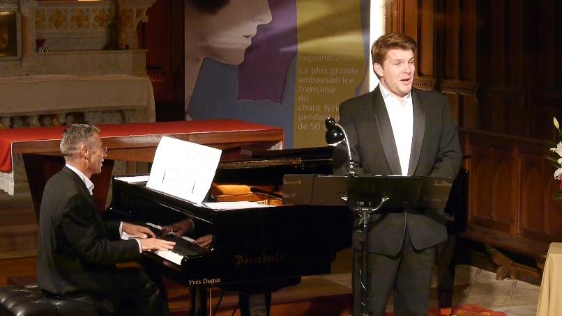 Samedi 11 avril  Stanislas De Barbeyrac en récital unique