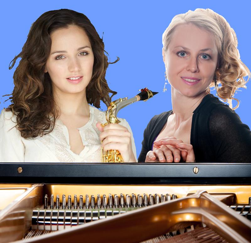 Jeudi 4 juin  20h30 Swetlana Meermann au piano, Asya Fateyeva au saxophone