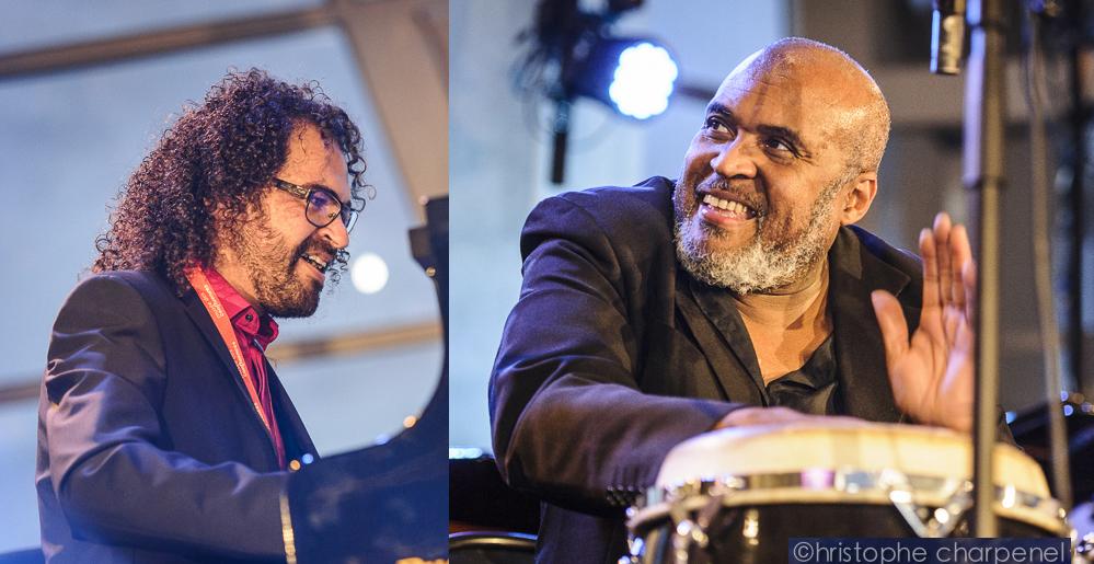 Samedi 23 janvier 20h30 Edmundo Carneiro aux percussions Ewerton Oliveira au piano