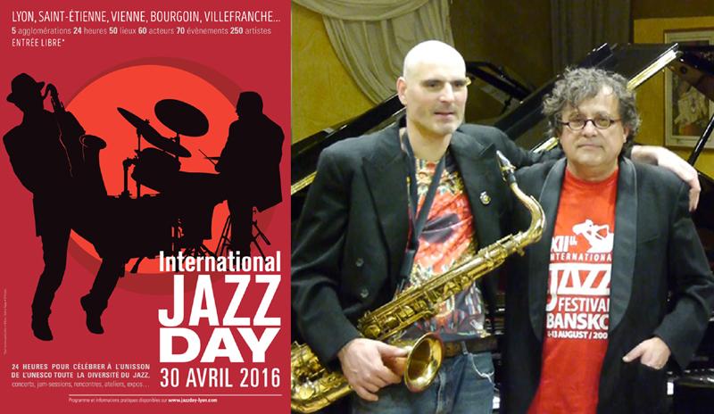 samedi 30 avril 20h30 Mario Stantchev Lionel Martin pour International Jazz Day