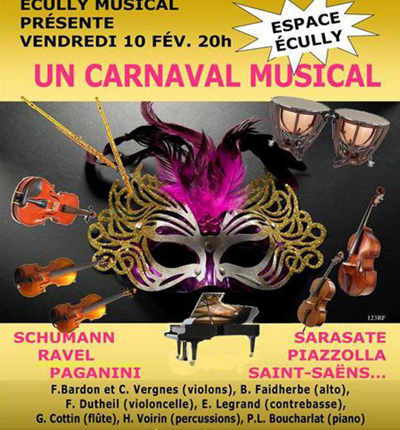 Vendredi 10 février 20h Carnaval Musical