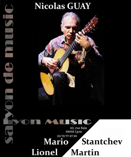 Vendredi 21 septembre 20h, Nicolas Guay – Lionel Martin – Mario Stantchev