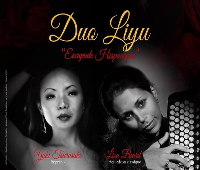 Samedi 12 octobre 20h Duo Liyu